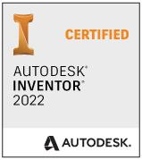 Zertifizierungsbescheinigung für Autodesk Inventor