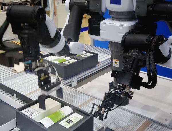Roboter im Einsatz in der Industrie